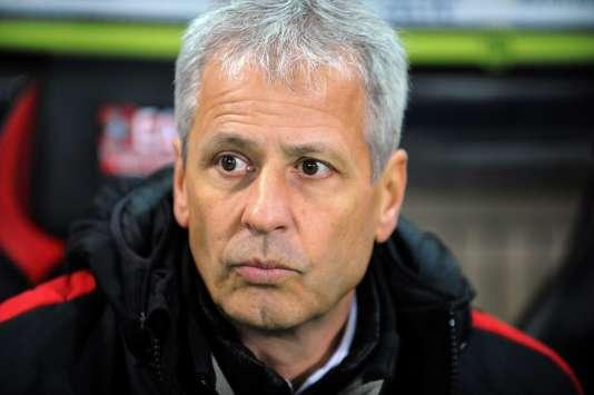 L'entraîneur niçois Lucien Favre, le 30 novembre.