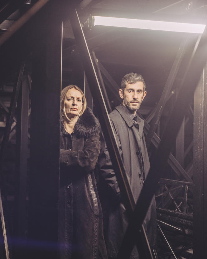 Daria Deflorian et Antonio Tagliarini, à Paris, lundi 28 novembre 2016.
