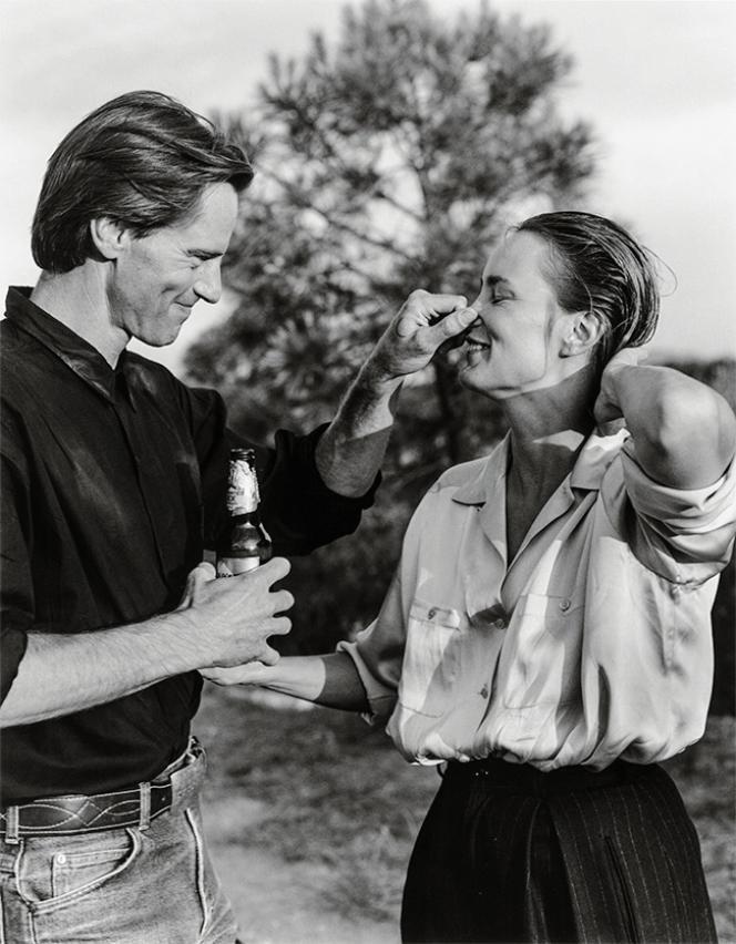Portrait de Sam Shepard et Jessica Lange pour «Vanity Fair», en 1984.