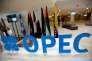 Sigle de l'OPEP à Alger, le 28 septembre 2016.