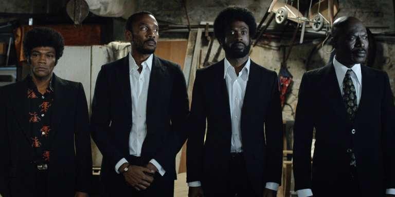 Les quatre braqueurs du film « LeGang des Antillais».