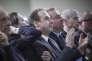 Jean-Christophe Lagarde, président de l'UDI, lors du meeting d'Alain Juppé, à Toulouse, le 22 novembre, entre les deux tours de la primaire de la droite.