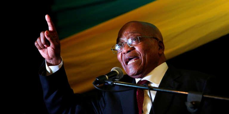 Le président Jacob Zuma le 18 novembre 2016 à Pietermaritzburg.