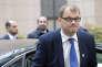 Le premier ministre finlandais, Juha Sipilä, à son arrivée à un sommet européen le 20 octobre 2016 à Bruxelles.