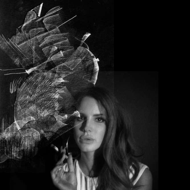 «Lana del Rey vient à peine de commencer sa carrière de chanteuse et se produit à Paris au Nouveau Casino. Je ne fais qu'une image, simple, dans les loges : elle fume une cigarette, nous échangeons quelques mots. C'était très simple mais suffisant».