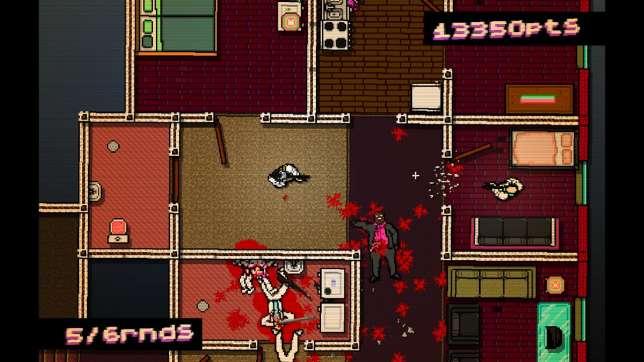 «Hotline Miami», ses portes qui claquent... et écrasent les ennemis.