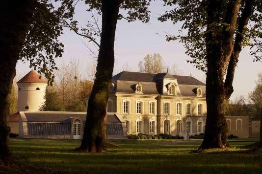 La manoir XVIIIe siècle de Champagne Devaux, à Villeneuve, non loin de Bar-sur-Aube.