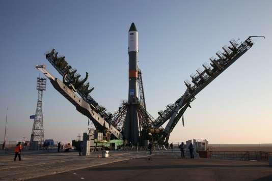 Le Progress MS-04 sur le cosmodrome de Baïkonour au Kazakhstan, le 29 novembre.