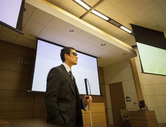 Steeve Baksis au college of DuPage, àGlen Ellyn, dans l'Illinois (Etats-Unis).