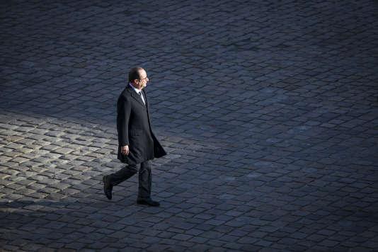 François Hollande le 29 novembre aux Invalides.