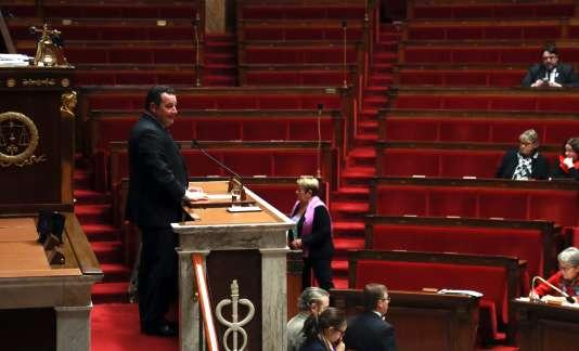 Jean-Frédéric Poisson, à l'Assemblée nationale le 1er décembre.