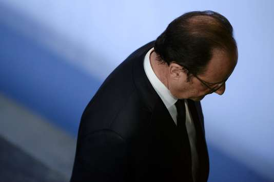 François Hollande le 17 octobre 2016 à Florange.
