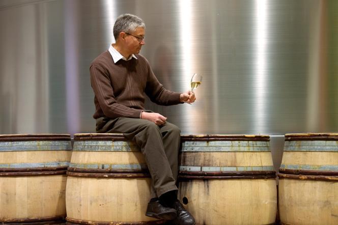 François Domi, chef de cave des champagnes Billecart-Salmon.