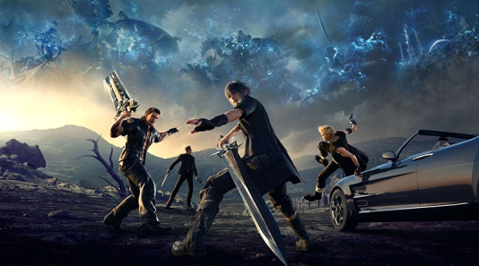 «Final Fantasy XV» suit le road-trip de quatre éphèbes.