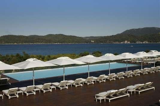 L'hôtel Blue & Green Troia Design bénéficie d'une vue spectaculaire sur l'Atlantique.
