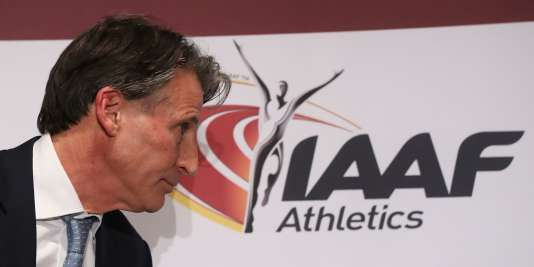 Le président de l'IAAF, Sebastian Coe.