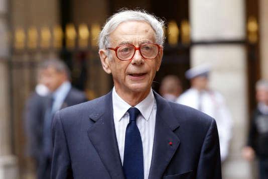 Lionel Stoléru, à Paris le 3 octobre 2013.