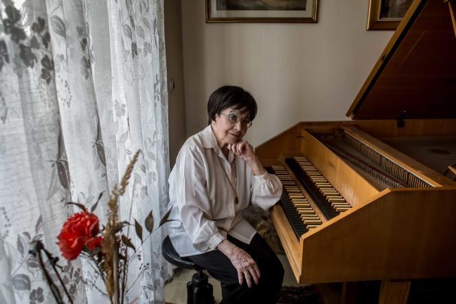 ZuzanaRuzickova dans son appartement du quartier de Vinohrady, à Prague en novembre 2016.
