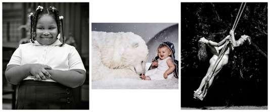 Ses clichés de mode pour de grandes marques l'ont rendu célèbre.De gauche à droite : pour Shinola à Détroit en 2013, « Ice Age » de Moncler en 2012,Obsession de Calvin Klein en 1997.