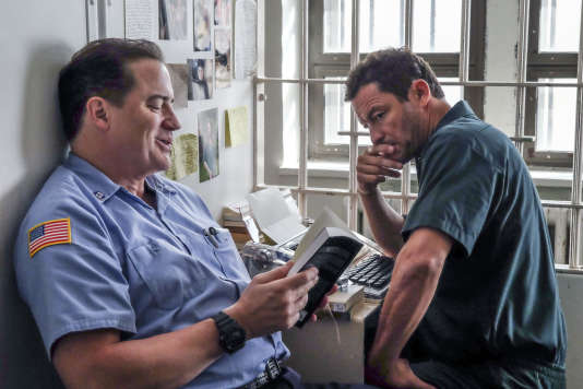 Brendan Fraser et Dominic West dans « The Affair » (saison 3, épisode 3).