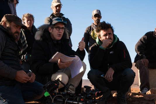 Eric Rochant sur le tournage de la série « bureau des légendes » dans la région de Ouarzazate (Maroc) en novembre.