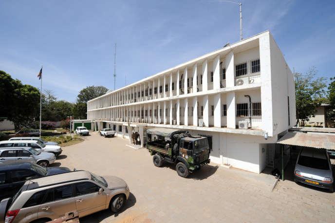 L'ambassade française à N'Djamena, en 2008.
