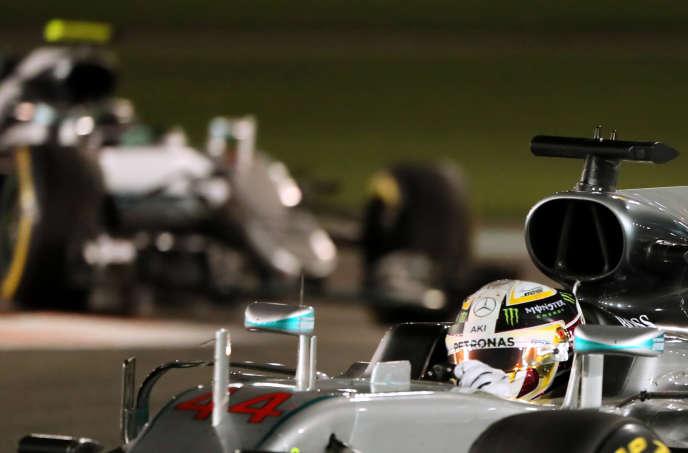 Le Grand Prix d'Abou Dhabi sur le circuit Yas Marina, le 27 novembre 2016.