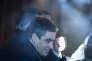 François Fillon, candidat du parti Les Républicains à l'élection présidentielle de 2017, fait sa première sortie de campagne à Chantenay-Villedieu dans la Sarthe, jeudi 1er décembre 2016 - 2016©Jean-Claude Coutausse / french-politics pour Le Monde