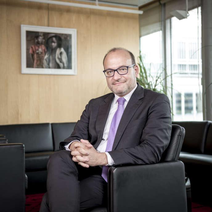 Remy Rioux, directeur général de l'Agence française de développement, le 3 juin, à Paris.