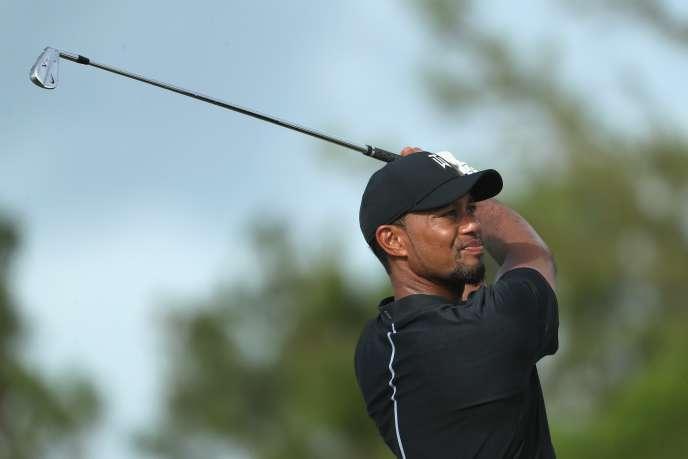 Tiger Woods, le 1er décembre.
