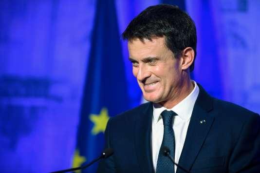 Le premier ministre Manuel Valls en déplacement à Nancy, le 2 décembre.