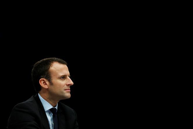 Emmanuel Macron, le 2 novembre 2016 à Deauville.