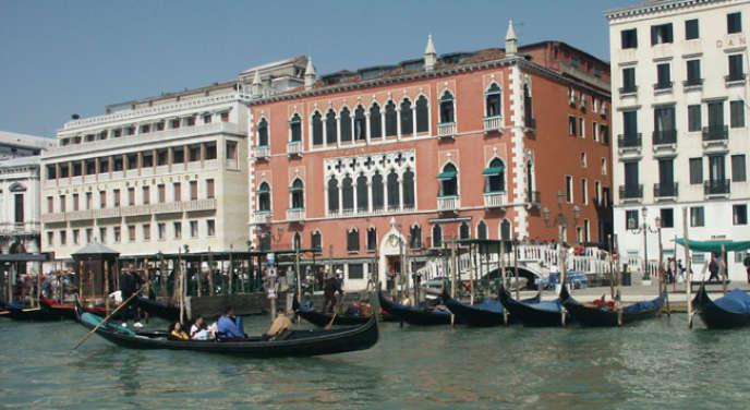 L'Hôtel Danieli à Venise.