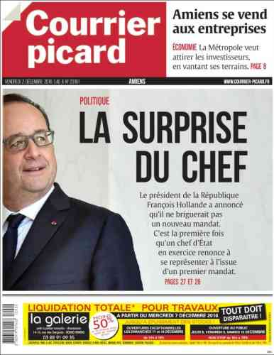 « Courrier picard ».