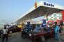 Station d'essence à Lagos (Nigeria) en mars 2016.