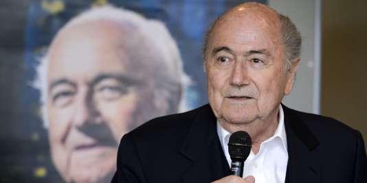 Sepp Blatter, le 21 avril, à Zurich.