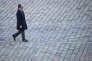 François Hollande, président de la république, participe à une traditionnelle prise d'armes dans la cour des Invalides à Paris, mardi 29 novembre 2016 - 2016©Jean-Claude Coutausse / french-politics pour Le Monde