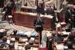 Manuel Valls, à l'Assemblée nationale, pendant les débats sur le projet de réforme constitutionnelle, en février 2016.