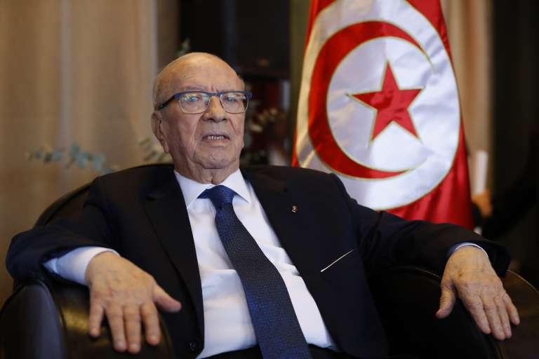 Le président tunisien, Béji Caïd Essebsi, le 2 décembre à Paris.