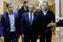 Le ministre du développement économique Alexeï Oulioukaiev à son arrivée au tribunal de Basmanny à Moscou le 15 novembre.