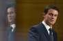 Manuel Valls à Nancy (Meurthe-et-Moselle) le 2 décembre.