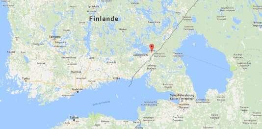 La ville d'Imatra se situe en Finlande, à la frontière avec la Russie.