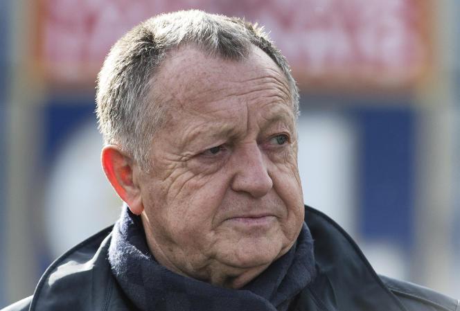 Le président de l'Olympique lyonnais, Jean-Michel Aulas.