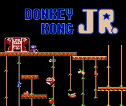 Dans Donkey Kong Jr. (1982), Mario est un cruel geolier doté d'un fouet.