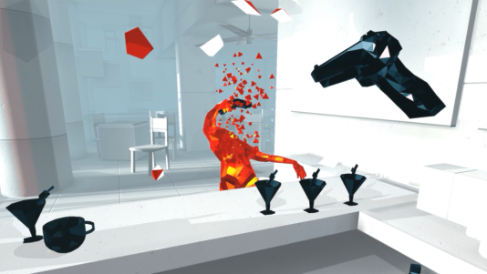 « Superhot », super-stylisé, super-drôle, super-immersif.