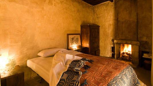 La camera sul Lago de l'hôtelSextantio Albergo Diffuso.