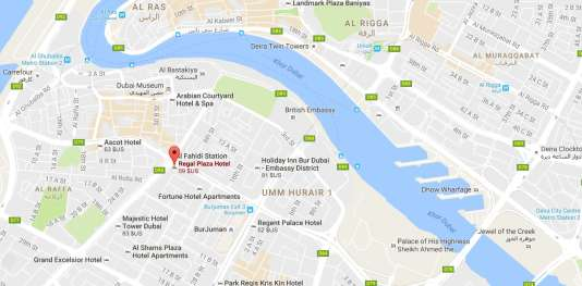 Un incendie s'est déclaré avant l'aube le 5 décembre au Regent Plaza Hotel, à Karachi.