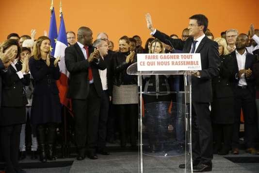 Manuel Valls a annoncé, lundi 5 décembre, à Evry, qu'il est candidat à la présidentielle de 2017 et qu'il démissionnera dès mardi 6 décembre de son poste de premier ministre.