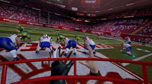« VR Sports Challenge » donne l'impression d'enchaîner les mini-jeux sans intérêt.