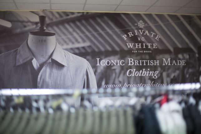 La marque de vêtements haut de gamme a relocalisé son atelier à Manchester en 2008.